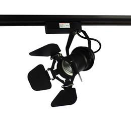 10 шт. / упак. 5 Вт COB LED трек свет LED магазин одежды освещение 5 Вт прожектор с регулируемой крышкой на передней панели