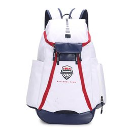 $enCountryForm.capitalKeyWord Australia - Basketball Backpacks New Olympic USA Team Packs Backpack Man's Bags Large Capacity Waterproof Training Travel Bags Shoes Bags Free Ship