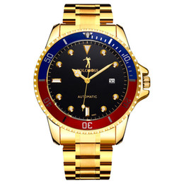 $enCountryForm.capitalKeyWord Australia - Authentic Paul watch high-grade men automatic mechanical mechanical watch Oyster Business large dial watch,One shipment,One shipment