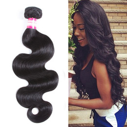 body wave curly hair 2019 - 8A one Bundle Mink Brazilian Straight Water Curly Deep Body Wave Virgin Hair Pretty Malaysian Peruvian Hair Weave Bundle