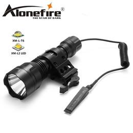 $enCountryForm.capitalKeyWord Canada - AloneFire C8s Tactical Flashlight 18650 Cree XML-T6 Powerful Flash light Portable Torch light Lamp Bike Light Camp hunting