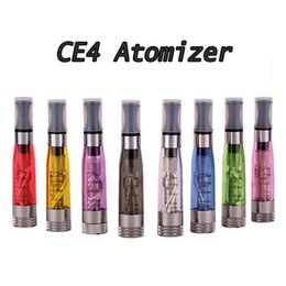Chinese  CE4 Atomizer Colorful Ce4 Electronic Cigarette Clearomizer with 1.6ml adapter suit for all ego-t Battery ego w battery ecigs manufacturers