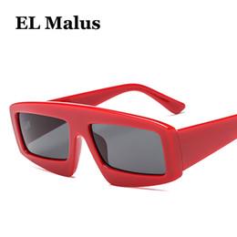 sun tan wholesalers 2019 - [EL Malus]Thick Square Frame Sunglasses Women Men Sun Glasses Eyewear UV400 Protection Sexy Ladies Gray Tan Lens Oculos