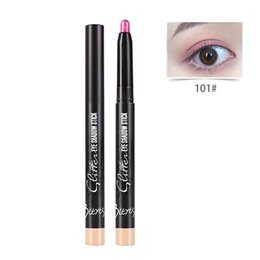 $enCountryForm.capitalKeyWord UK - 2018 New Brand Beauty Pro Highlighter Eyeshadow Pencil Cosmetic Glitter Eye Shadow Pen Makeup with 6 Colors