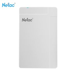 "hdd laptop hard drive 2019 - Netac K218 500G White USB 3.0 2.5"" Portable HDD Mobile External Hard Disk Drive hd externo for Desktop Laptop Exter"