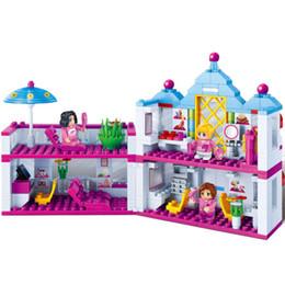 Dream houses online shopping - 405Pcs Bricks Friends Series Charm City Dream House Assemble Building Blocks Educational DIY Toys For Children