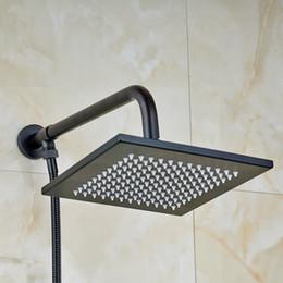"$enCountryForm.capitalKeyWord Australia - Square Design 8"" Shower Head Wall Mount with 1.5m Shower Hose ORB"