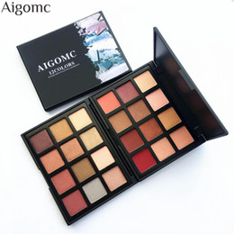Discount light pink eyeshadow - 2018 New Professional 12 Color Eyeshadow Palette Smoky Earth Natural Eye Shadow Make up Palette Set Cosmetics