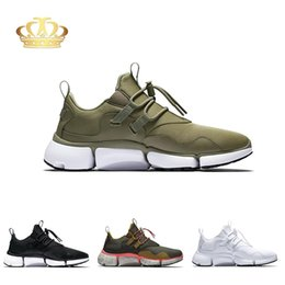 Discount top labs Authorized Lab PocketKnife DM Multicolor Mens Running Shoes 898033-200 Genuine Top Quality Presto V5 Khaki Grey Mens Tra