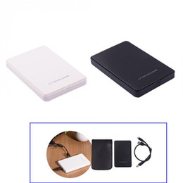 Usb hard drive wholesale online shopping - 2 Inch External SATA Hard Disk Drive SSD Case TB USB HDD Enclosure XXM8