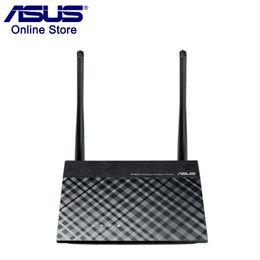 venda por atacado Original de Alta Qualidade Roteador ASUS RT-N12 + WI-FI 300 Mbps 2.4 GHz 5dBi WPS VPN Router Sem Fio