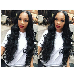 $enCountryForm.capitalKeyWord NZ - beautiful women long loose Wave Wig Simulation Human Hair loose Wave wig middle part for lady in large stock