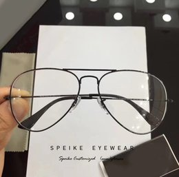 $enCountryForm.capitalKeyWord Australia - SPEIKE Customized prescription Eyewear New Fashion Pilot glasses frame R 3025 58mm For Men and Women can be myopia glasses reading glasses