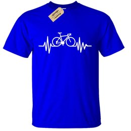 BIKE PULSE T-SHIRT Mens Tee Cycling Bicycle Riding Doctor birthday Medic  gift Funny free shipping Unisex Casual tshirt gift 16a6dac445cc