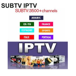 Discount tuner free - work for android mag 254 box Albania IP TV subtv 1year subscription free Greece Persian Poland Denmark Germany Europe Ar