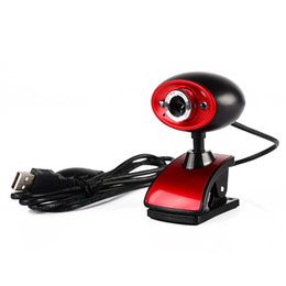 Wholesale USB Million Pixels HD Webcam Clip on Web Camera With Mic Microphone for Computer PC Laptop Tablet