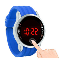 $enCountryForm.capitalKeyWord UK - OTOKY Fashion Waterproof Men LED Touch Screen Day Date Silicone Wrist Watch Sports Watches Special Gift Bracelet Cool NI10