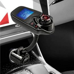$enCountryForm.capitalKeyWord Australia - Bluetooth FM Transmitter Car MP3 Audio Player Wireless FM Modulator Car Kit HandsFree LCD Display USB Charger for iPhone X 8 8P