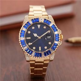 $enCountryForm.capitalKeyWord NZ - new rhinestone wrist watches for men diamond ladies watch silver and gold bangle bracelet clock