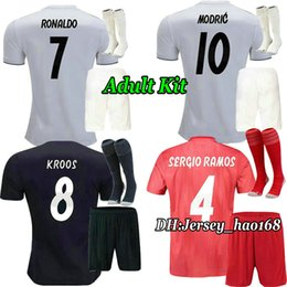 092c7ee5241 Sergio ramoS black jerSey online shopping - 18 Real madrid Adult Kit Home  soccer Jersey ASENSIO