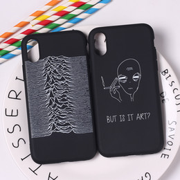 Cool Cases For Iphone 5s Australia - Geometric Cool 3D Black Pop Street Fashion Abstract Soft TPU Silicone Candy Case Coque For iPhone 6 6S 5 5S SE 8 8Plus X 7 7Plus