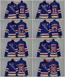 China Men Women Youth Kids New York Rangers 27 Ryan McDonagh 11 Mark Messier 30 Henrik Lundqvist 36 Mats Zuccarello Blank Blue Jerseys All Stiched supplier ryan mcdonagh suppliers
