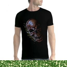 $enCountryForm.capitalKeyWord NZ - Skull Cracked Horror Men T-shirt XS-5XL New Hot New 2018 Summer Fashion T Shirts Tee Shirts Hipster Loose top tee