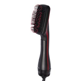 Air brush hAir styler online shopping - Professional Hair Dryer Brush Multi Function Electric Hairs Blow Dryer Brush Hot Air Hair Curls Comb Salo Hairs Styler