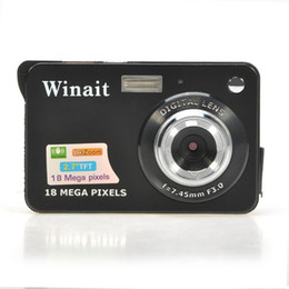 "battery extension 2019 - Winait 18Mp Max 2MP CMOS Sensor Digital Camera Still Photo Camera with 2.7"" Screen Lithium Battery 32GB SD Card Ext"
