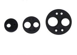 5pcs Material dental accesorios almohadilla de goma redonda dos cuatro seis orificios cola sellado junta de goma de alta temperatura de desinfección