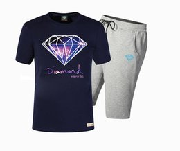 diamond supply tee shirts Australia - Brand Designer New Summer Cotton Mens T Shirts Fashion Short-sleeve Printed Diamond Supply Male Tops Tees Hip Hop Sport DTZ07