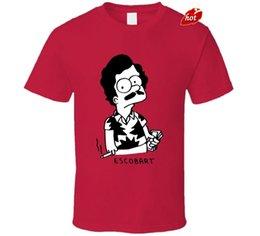 $enCountryForm.capitalKeyWord Canada - 2018 Streetwear Short Sleeve Tees Escobart The Pablo Escobart Parody TV Show T Shirt 100% Cotton Shirts