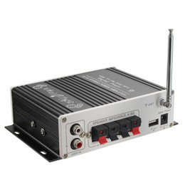 Freeshipping 2CH 200 W Puissance Bluetooth HiFi Stéréo AMP Amplificateur Basse Amplificateur Pour Voiture Maison MP3 en Solde