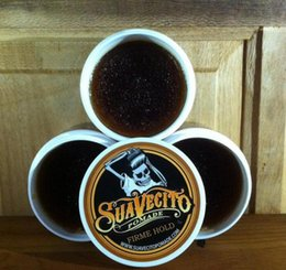 113ml Suavecito Pomade Волосы Воски Сильный Стиль Восстановление Pomade Hair Gel Style Tools Firme Hold Big Skeleton Slicked Back Hair Oil Wax Mud