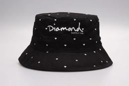 38948f54b5e New Fashion Diamond Bucket hats floral leaf hunting Fishing mens sports  bobs gorras bones High Quality hip hop cayler sons fisherman caps