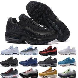 nike air max 95 airmax Classique 95 OG Tripel Blanc Noir Hommes Femmes Chaussures Casual 95 Coussin M95 GS Authentique Sport 95s Bottes Sneakers