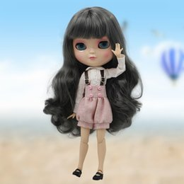 Nova Chegada Frete grátis Icy boneca incluindo sapatos e roupas de cabelo longo 30 cm como fábrica blyth boneca de brinquedo conjunta corpo conjunta