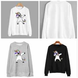 $enCountryForm.capitalKeyWord Canada - 3 Colors Unicorn Printed Sudaderas Mujer Winter Sweatshirt Women Harajuku Cute Hoodies Long Sleeve Unicorn Hoodies CCA9023 10pcs