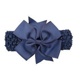 $enCountryForm.capitalKeyWord UK - Wave baby girl headbands Bowknot Hair Accessories For Girls Infant Hair Band flower headband newborn photography props