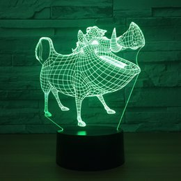 $enCountryForm.capitalKeyWord Canada - Pig 3D Optical Illusion Lamp Night Light DC 5V USB Powered AA Battery Wholesale Dropshipping Free Shippin