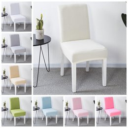 20 Colors Optional High Elastic Chair Cover Restaurant Hotel Wedding Dining Room Spandex Stretch Banquet NNA305