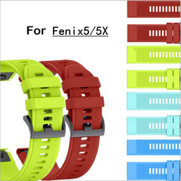 Wholesale 22mm Width Outdoor Sport watch band Easy Fit Silicone Strap Watchband for Garmin Band Silicone Band for Garmin Fenix Fenix S Fenix X