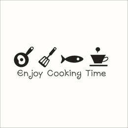 $enCountryForm.capitalKeyWord UK - Cooking Time Kitchen Wall Sticker Room Art Painting Wall Stickers Vinyl Decor Decals