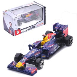 China Alloy Car Toy 1:43 Simulation Diecast Model Classic Bull Equation Racing Cars Toys Gift For Kids 19bk WW supplier classic toy trains suppliers