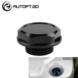 toyota engines Australia - NEW ARRIVED ALUMINUM RACING ENGINE OIL FILLER CAP FUEL TANK COVER FOR MOST OF TOYOTA CAMRY COROLLA RAV4 HIGHLANDER TRD OIL CAPS LIDS