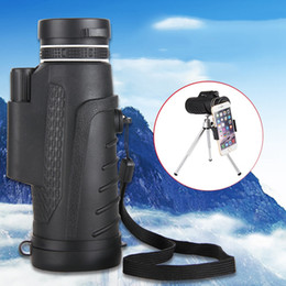 $enCountryForm.capitalKeyWord Canada - wholesale High Quality 40X60 HD Zoom Telephoto Monocular Telescope With Clip + Tripod For Mobile Phone