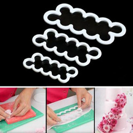 Sugar Cookies Cutter Australia - New Plastic DIY Rose Flower Cutter Maker Fondant Cake Mold Decorating Tools Sugar Printed Cookie Biscuit Craft Molds