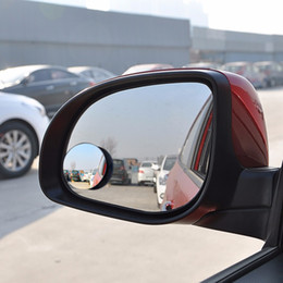 Discount vehicle blind spot mirrors - 1 PCS Auto 360 Wide Angle Round Convex Mirror Car Vehicle Side Blindspot Blind Spot Mirror Wide RearView Mirror
