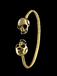 $enCountryForm.capitalKeyWord Australia - jiangyu High Quality Celebrity design MQ bracelet Fashion show Classic style Bracelets Fashion metal Skull bracelet Jewelry With Box