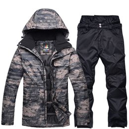 $enCountryForm.capitalKeyWord Australia - NEW Snowboarding sets Men jackets + pants Professional Winter Warm Windproof Waterproof Snow Skiing suit winter outdoor Clothes